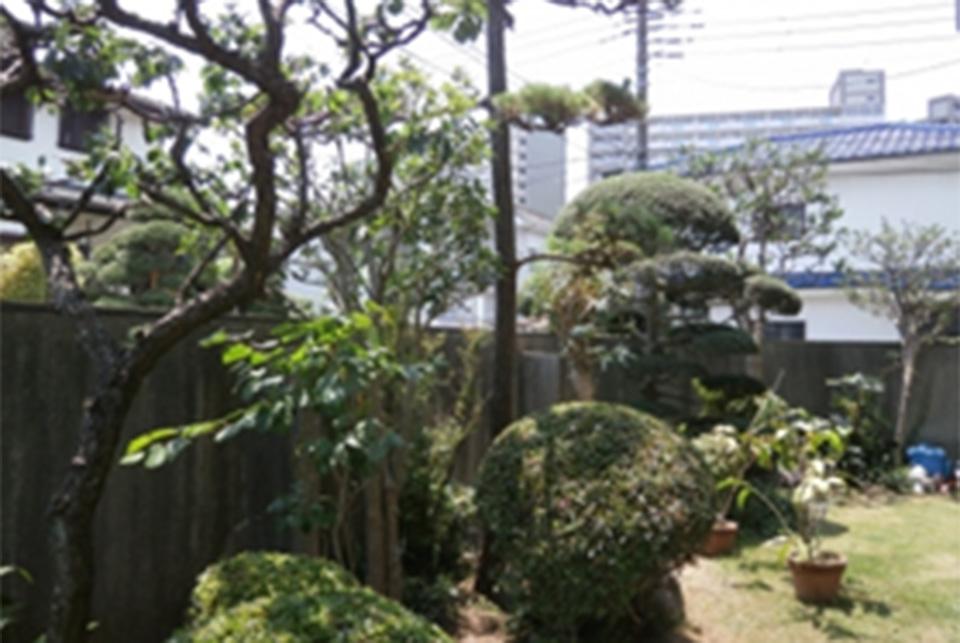 大規模修繕時のお庭の提案